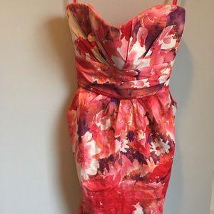 Urban Behaviour Pastel Flower Halter Dress